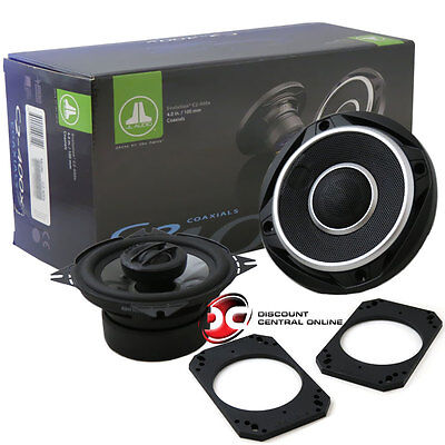 "JL AUDIO C2-400X 4"" 2-WAY CAR AUDIO SPEAKER (PAIR) C2400X on Rummage"
