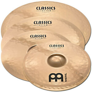 Meinl Classics Custom Cymbal Box Set Pack w/ FREE 18