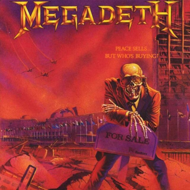 MEGADETH Peace Sells...But Who's Buyng? CD NEW Bonus Tracks Remixed Remastered