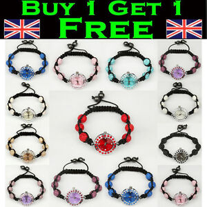 Watch-Shamballa-Bracelet-Watch-6-Czech-Crystal-Disco-Premium-Quality-Clay-Balls