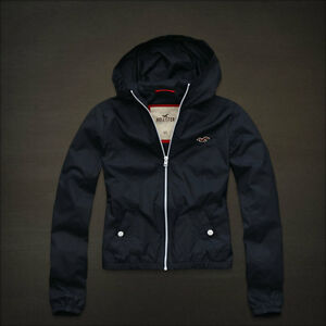 New Hollister by Abercrombie Womens Spring Hoodie Jacket ...