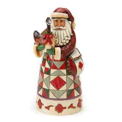 Jim Shore Canadian Santa Figurine ~ 4017648