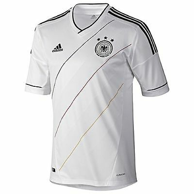 Adidas Germany Euro 2012 Home Soccer Jersey Brand White Youth - Kids