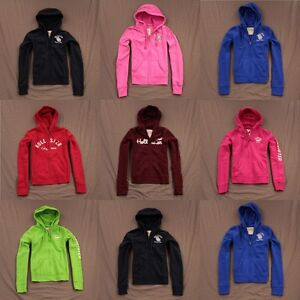 Hollister-Womens-Hoodie-Sweatshirt-Zip-Up-or-Pull-Over-by-Abercrombie-NWT