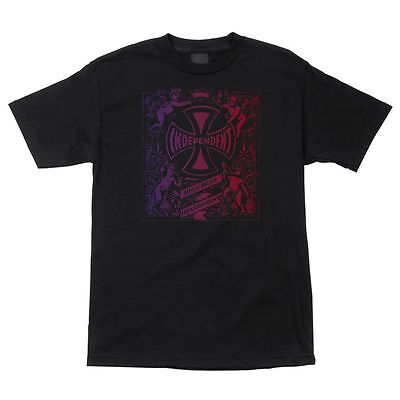 Independent Trucks Faded Hell Bent Shirt Blk Lrg on sale