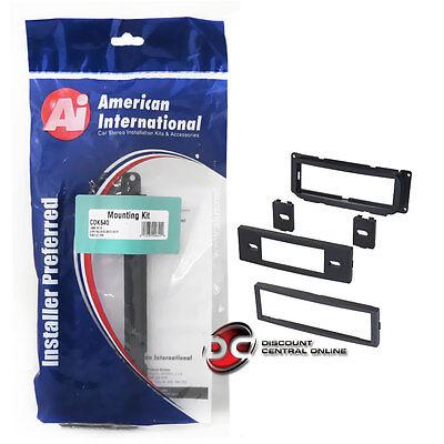 American International Cd-k640 Car Stereo Single Din Dash Kit