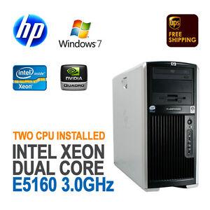 HP-XW8400-Workstation-2xDC-Xeon-5160-3-00GHz-4G-73G-SAS-FX3500-DVD-RW-Win-7-Pro