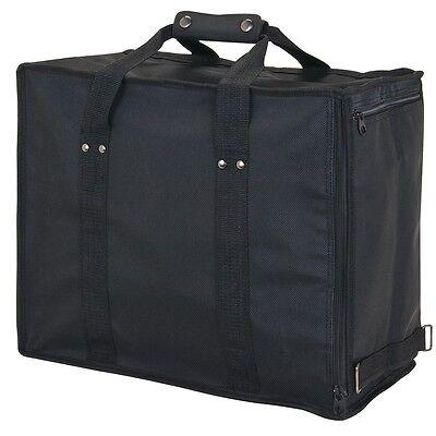 Premium Jewelry Case Carrying Case Travelling Case Black Salesman Travel Case