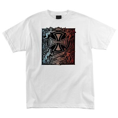 Independent Trucks Faded Hell Bent Shirt Wht Xl on sale