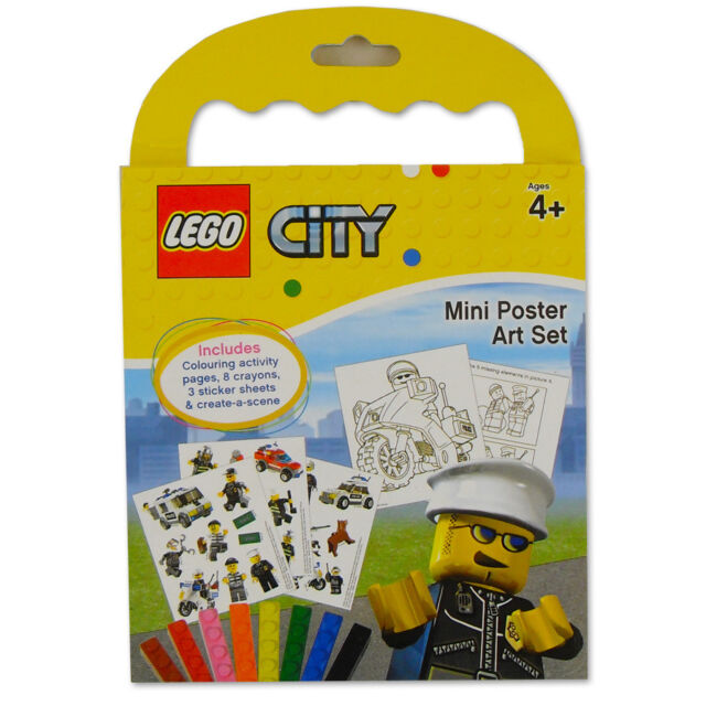 Lego Mini Poster Art Set