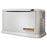 Génératrice Generac au propane ou au gaz naturel de 17 kW