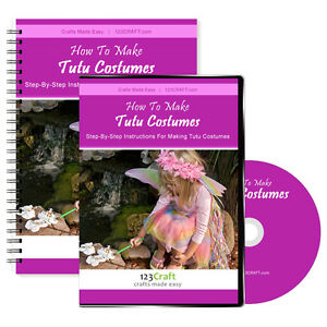 How-To-Make-Tutu-Costumes-Tutu-Instructions-DVD-eManual-Instant-Videos