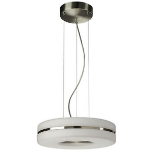 Cucina Kitchen Ceiling Light With White Glass Shade Low