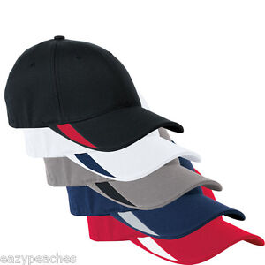 FLEXFIT-5006-NEW-Structured-V-Flex-Swoosh-Hat-FITTED-S-M-L-XL-Sport-Ball-Cap