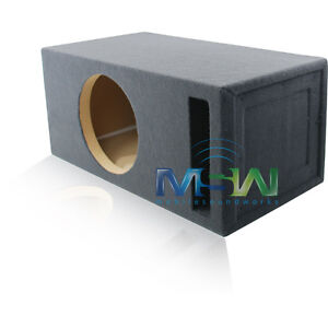 12-Inch CUSTOM-PORTED MDF CAR STEREO SUB WOOFER ENCLOSURE 2 CU. FT. TUNED @ 32Hz