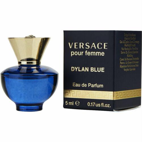 Dylan Blue for Women by Versace Eau de Parfum Mini Splash 0.