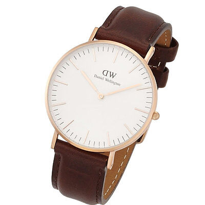 Daniel Wellington Women's 0511DW Classic Bristol Analog Display Quartz Brown