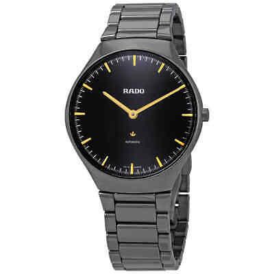 Rado True Automatic Black Dial Men's Watch R27972162