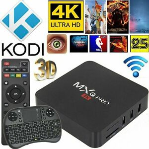 Android Tv Box - MXQ Pro 6.0 Latest Chip