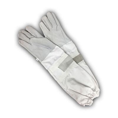 Extra Long Vented Beekeeping Gloves Medium