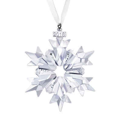 Swarovski 2018 Annual Snowflake Ornament 5301575