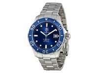 TAG Heuer Aquaracer Automatic 41 Blue Dial Calibre 5