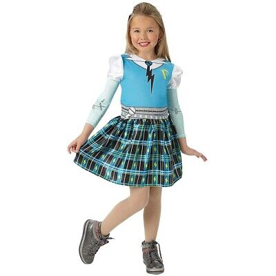 KINDER FRANKIE STEIN KOSTÜM Monster High Mädchen Halloween Karneval Zombie - Frankies Mädchen Kostüm