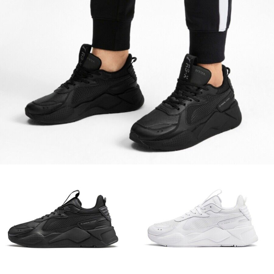 Details about Puma RS-X WINTERIZED Sneakers Shoes White Black 370522 01  Sz4-12