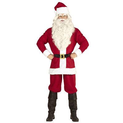 �M & MÜTZE Weihnachten Nikolaus Santa Claus Herren Anzug 1493 (Santa Claus Kostüm)