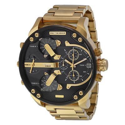Diesel Dz7333 Mr  Daddy 2 0 Gold Mens Watch