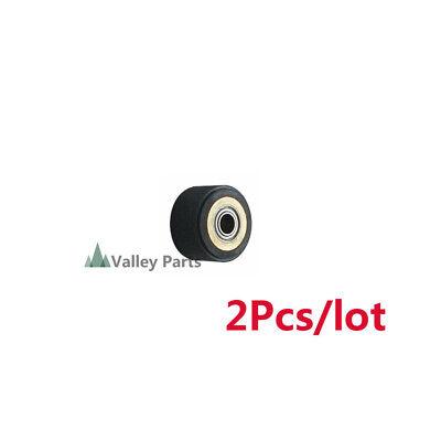 2pcslot Silica Gel Pinch Roller Wheel For Mimaki Vinyl Cutter 4x10x14mm