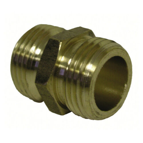 "3/4"" Male Garden Water Hose Thread Universal GHT Connector Adapter Extension"