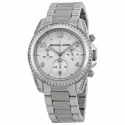Michael Kors MK5165 Blair Silver Tone Chronograph Ladies Watch