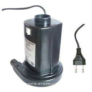 elektrische luftpumpe 130watt f r luftbetten luftmatratze. Black Bedroom Furniture Sets. Home Design Ideas