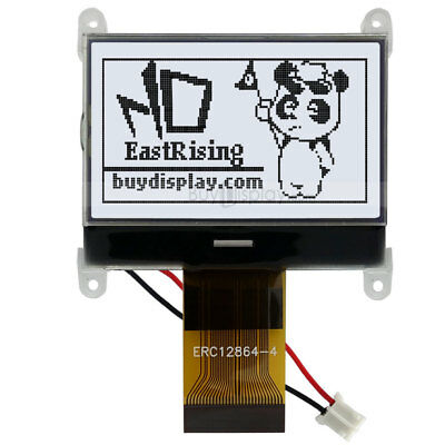 1.8 128x64graphic Lcd Module Display Spi Serialst7565p Wtutorialconnector