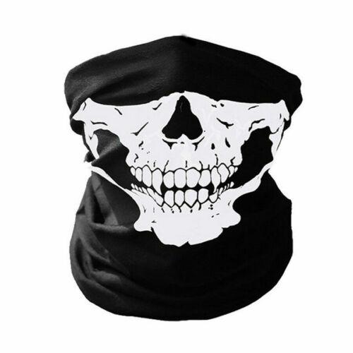 Ghost Biker Skull Hood Face Mask Motorcycle Ski Balaclava CS Sport Helmet winter
