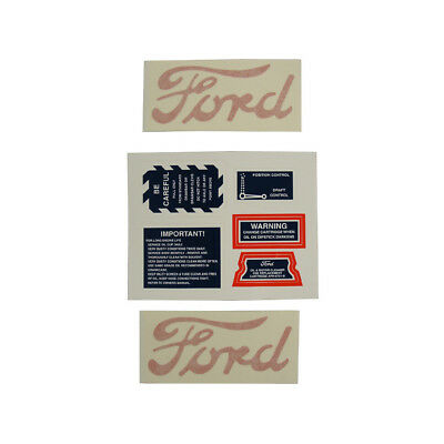 Decal Set For 8n Ford 1947-1949 Safetyservicehood Decals 8n502d 8n5052