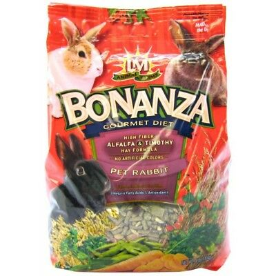 Bonanza Gourmet Diet (LM Animal Farms Bonanza Gourmet Diet - Rabbit Food net weight 4 lbs )