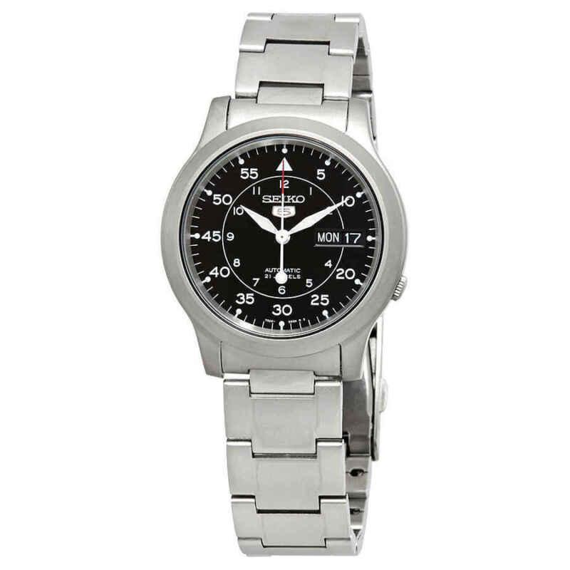 Seiko-Series-5-Automatic-Black-Dial-Men-Watch-SNK809K1