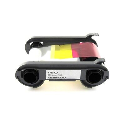 Evolis R5f008aaa Ymcko Color Ribbon   300 Print Primacy Id Printer Ribbon   New
