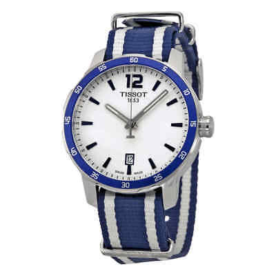 Tissot Quickster Silver Dial Unisex Watch (Unisex Silver Dial)