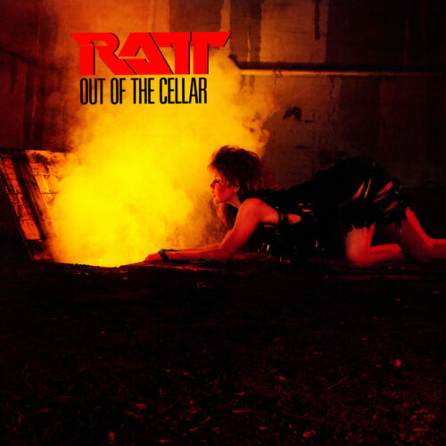 "Album Covers - Ratt - Out Of The Cellar (1984) Album Poster 24"" x 24"""