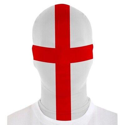 MORPHSUITS MORPHMASK ENGLAND FLAGGE # Karneval Fußball Sport Maske Kostüm - Sport Kostüm Accessoires