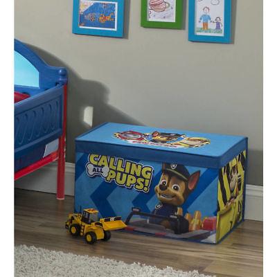 Nick Jr PAW Patrol Fabric Toy Box Delta Children Kids Storage Chest Organizer