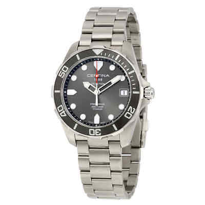 Certina DS Action Grey Dial Titanium Men's Watch C0324104408100