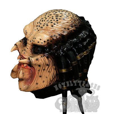 Halloween Famous Movie Character Alien Hunter Predator Latex Party Props - Alien Hunter Kostüm