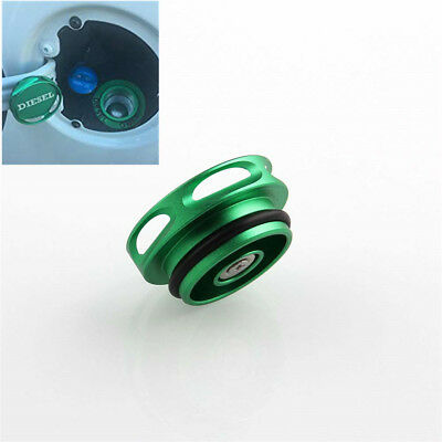 Green Magnetic Diesel Fuel Cap Cover for Dodge RAM TRUCK 1500 2500 3500 2013-18
