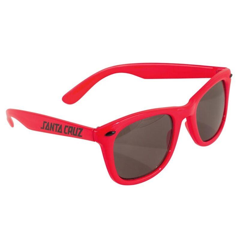 Santa Cruz STRIP SHADES Skateboard Sunglasses RED