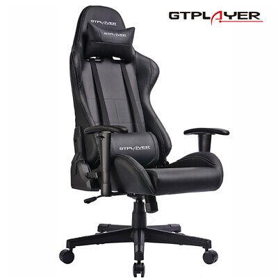 GTPLAYER Gaming Stuhl Bürostuhl Drehstuhl Schreibtischstuhl PC Computerstuhl  - Nicht Gepolstert Bürostühle