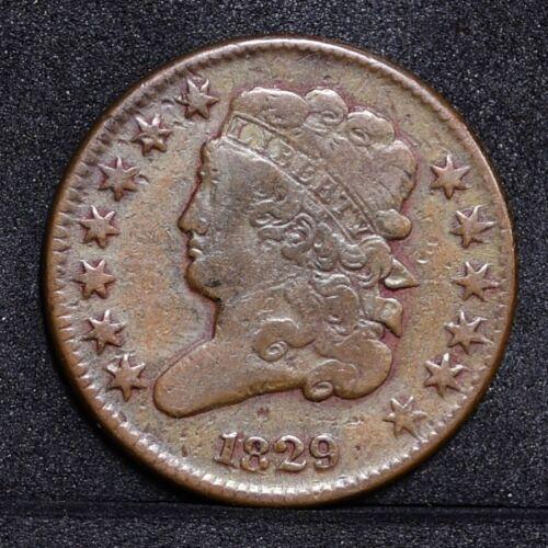 1829 Half Cent - Fine Details (#31563)